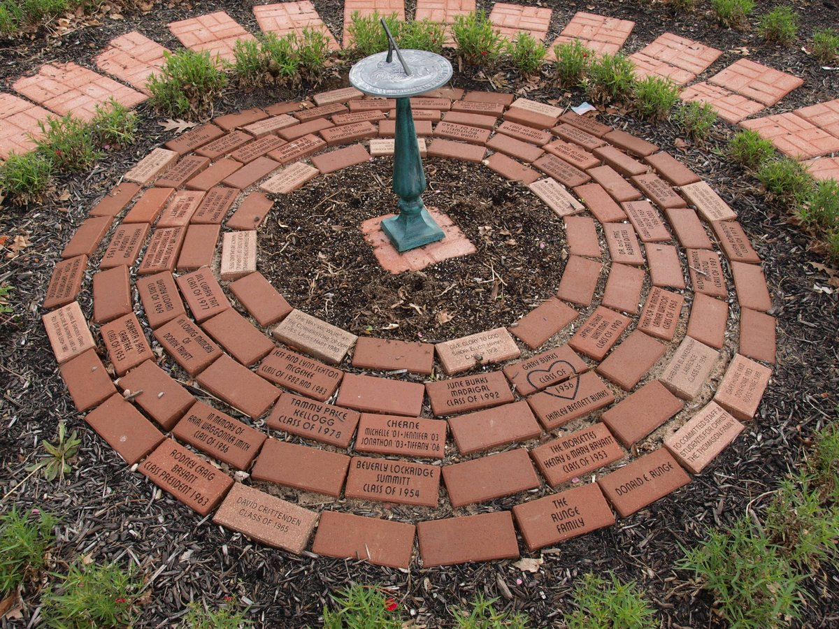 prayer garden – bricks – Highland Academy